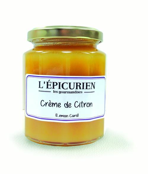 Les Gourmandises CRÈME DE CITRON 320G - Épicerie sucrée