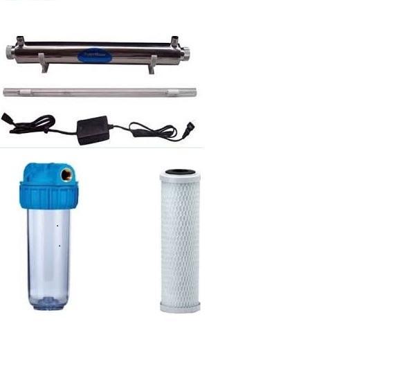 AQUATEC UV MAX 600 - Água pura e desinfectada para eliminação de bactérias.