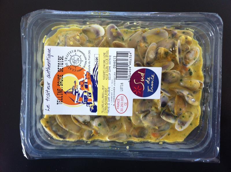 Tellines sauce Sètoise - Produits de la mer
