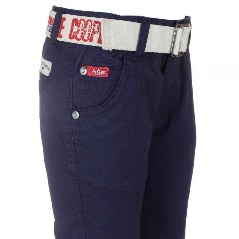 12x Pantalons avec ceinture Lee Cooper du 2 au 5 ans - Jeans et Pantalon