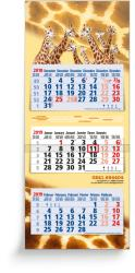3-Monatsplaner - 3-Monats-Wandkalender Maxi blau