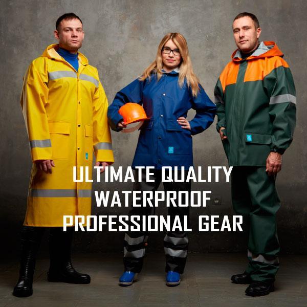 Водонепроницаемая ПВХ одежда - Водозащита для профессионалов