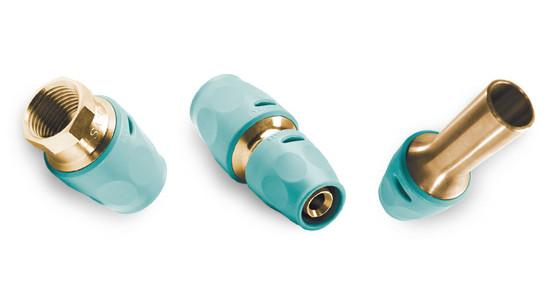 3fit®-Push push fittings, copper alloy
