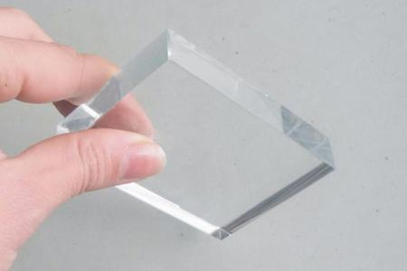 Ultra clear glass -