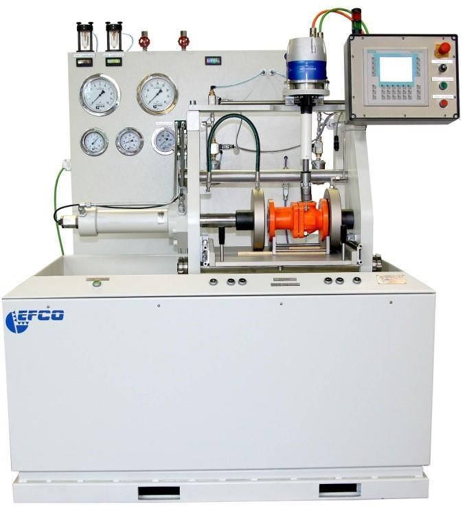 Horizontal Valve Test Bench for Testing Over and Under Water - Horizontal Valve Test Bench for the over- and underwater testing of valves