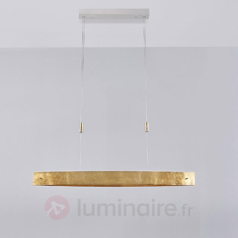 Attrayante suspension LED doré Lio - Cuisine et salle à manger