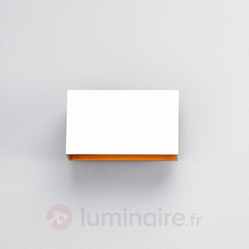 Applique LED Jessy blanche et dorée - Appliques LED