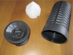 Fittings for tunnels - Inserts