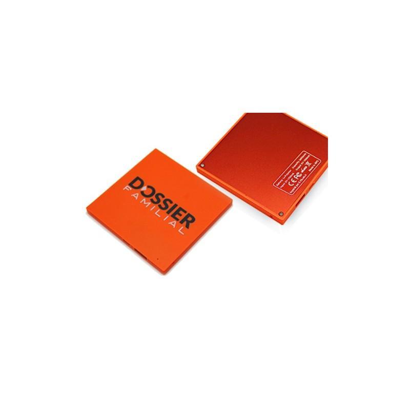 Batterie Power Bank Plat Carré - Power bank plat