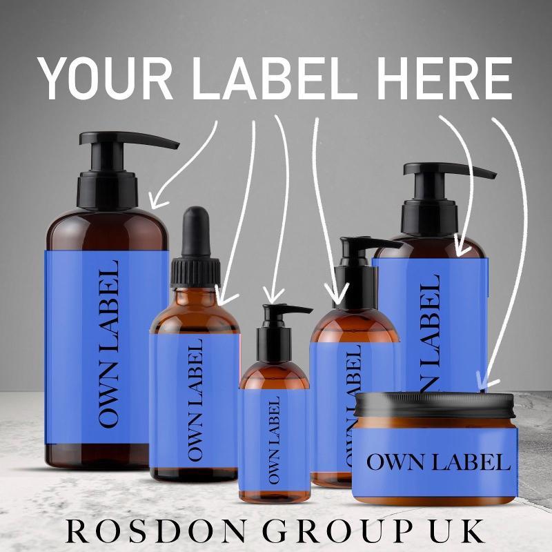 Private label shampoo & conditioner Made in UK
