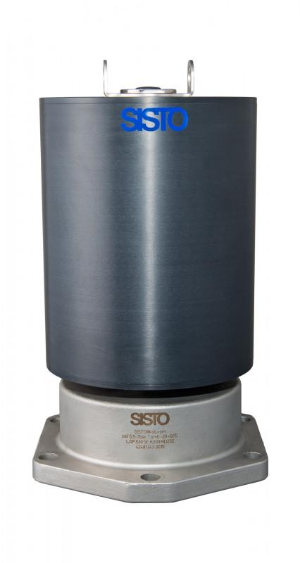 SISTO-C Bonnets with piston actuator - piston actuator, MD168-202, >=80 °C, Stainless steel actuator housing or Alu