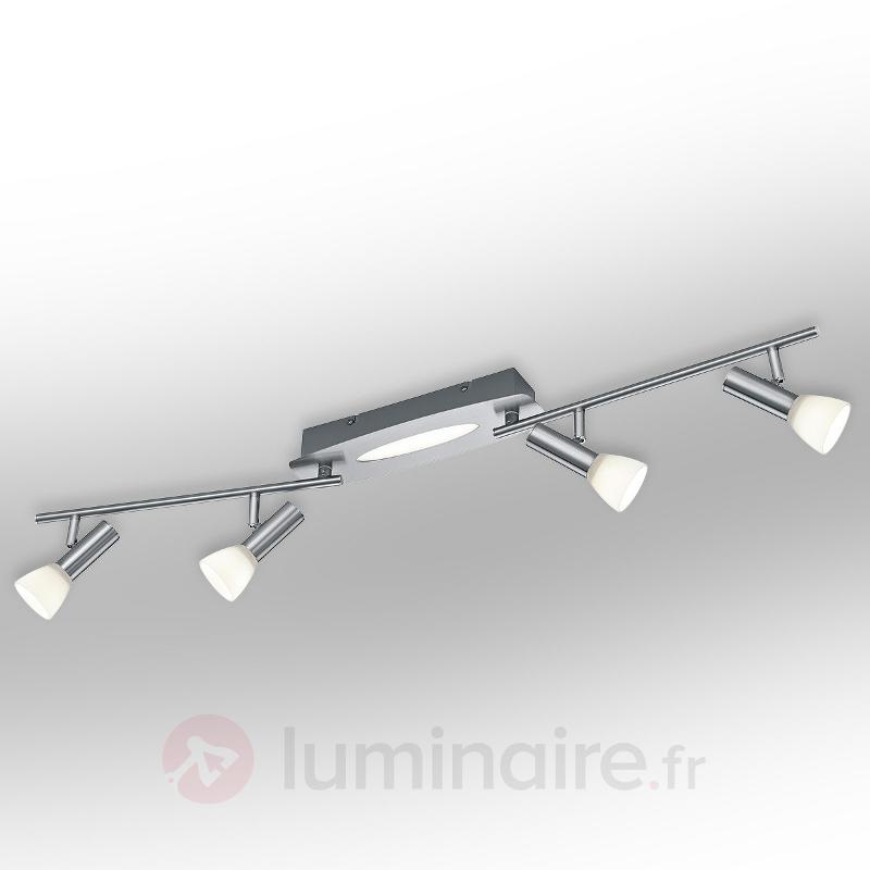 Plafonnier à spots LED Plucino à 5 lampes