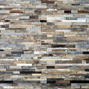 Bois ancien Patchwork - Bardage patchwork, un mélange de vieux bois