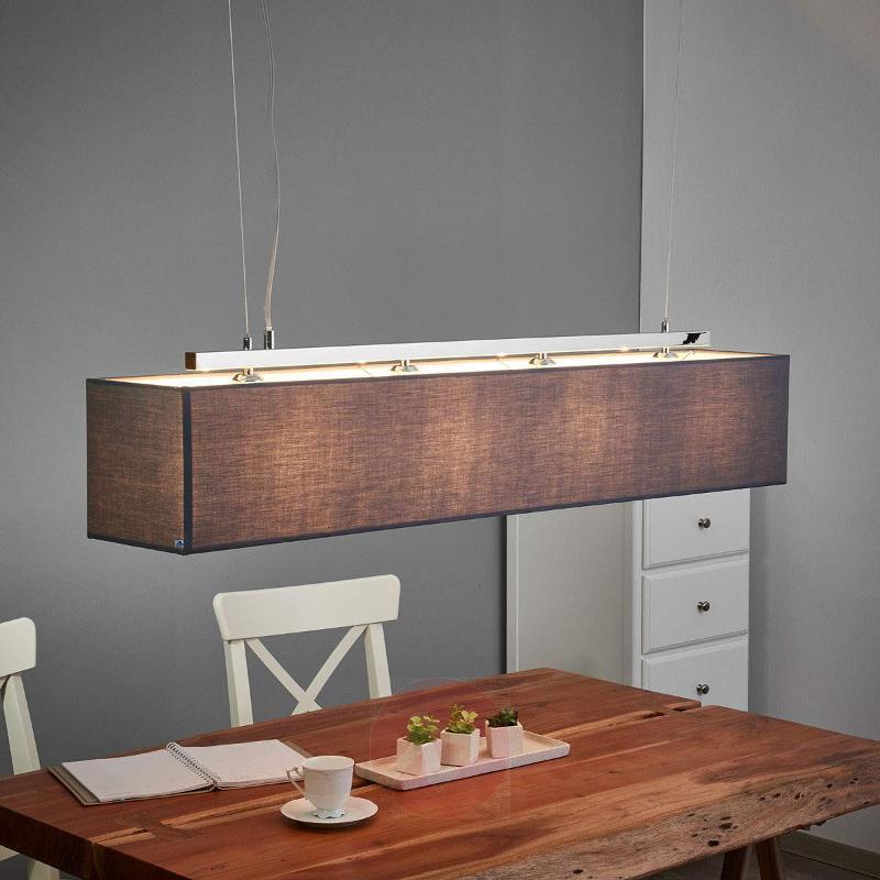 Long Collom hanging light - Pendant Lighting
