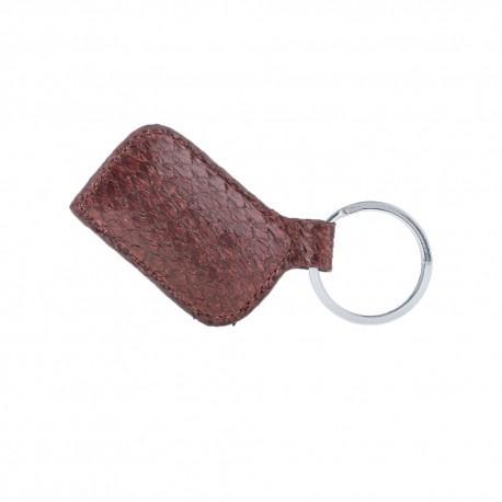 Fish Leather Keychain  - FSH07