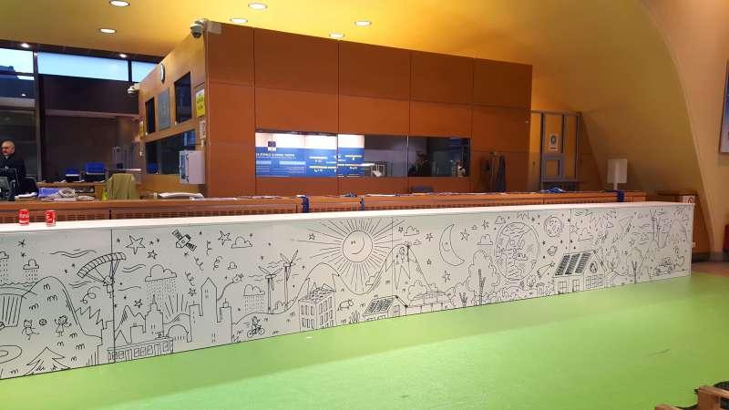 OPEN DOORS Berlaymont 2016 - Project - Salon