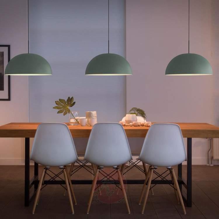 Light green Rye LED hanging light from metal - Pendant Lighting