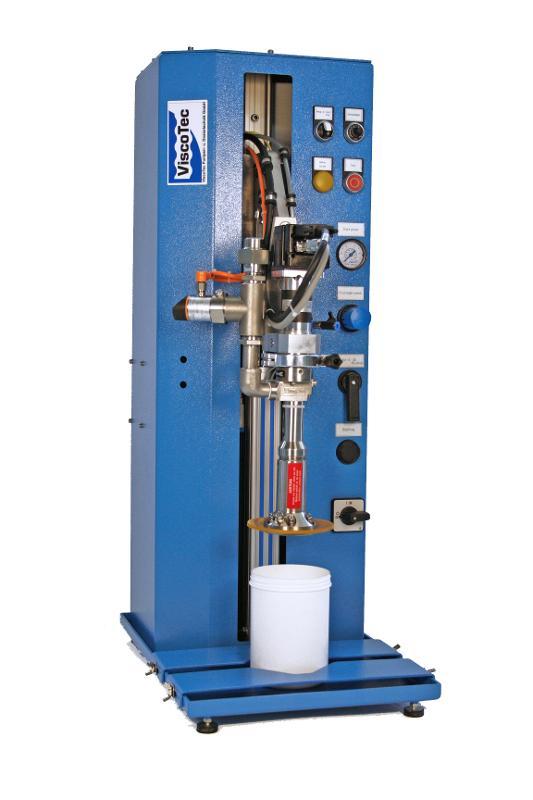 Dosenentleerung ViscoMT-D  - Entleerung und Entnahme von Kleingebinden und Dosen / ventilfreies Pumpensystem
