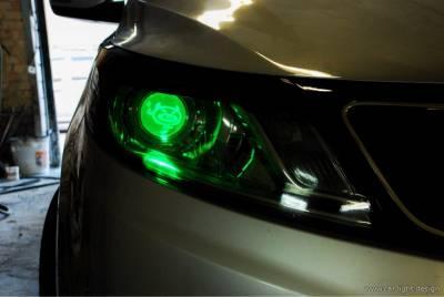 Установка биксеноновых модулей в фары автомобиля - Замена штатных или установка новых линз в автомобильную оптику.