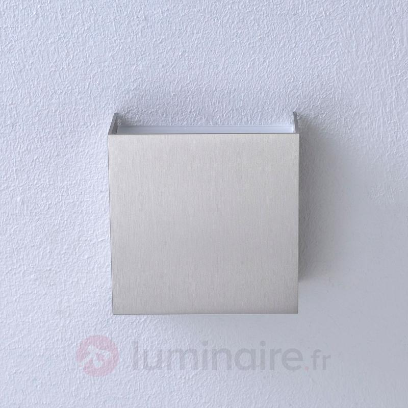 Applique LED Mira à finition nickel mat - Appliques LED