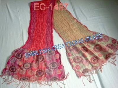 Silk Lycra Scarves - Silk Lycra Scarves