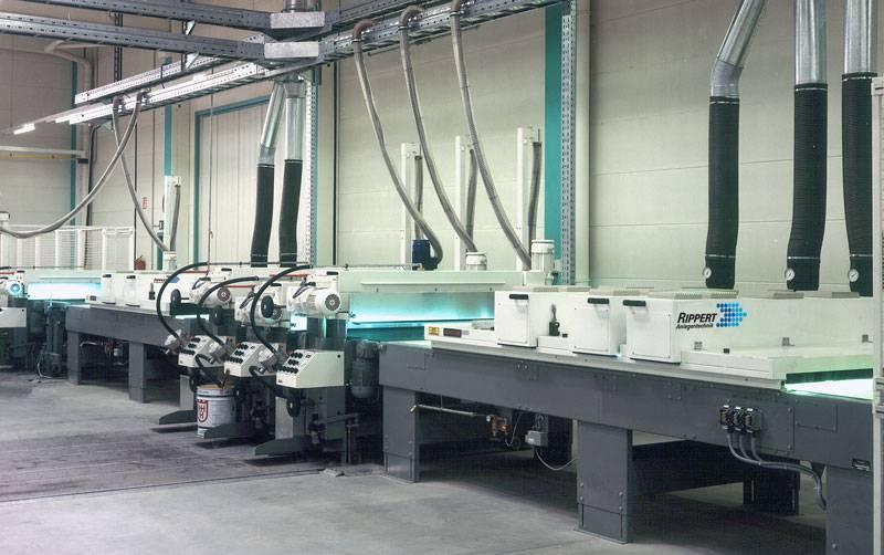 UV dryers - drying