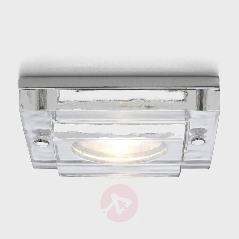 Mint Square Built-In Ceiling Light Square - High-Voltage Spotlights