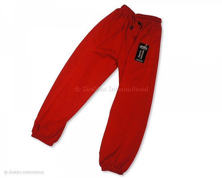 School Jogging Bottom - Red - Sportswear