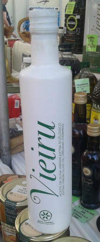 """Huile d'Olive Vierge Extra Bio """"Vieru"""" - Huile d'Olive Vierge Extra d'Extremadura"""