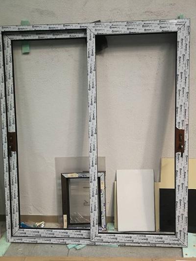 sliding windows - SALAMANDER 76MM, PROFILINK 70mm