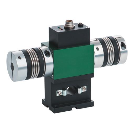 旋转扭矩传感器 - 8661 - 测量范围从0 ... 0.02 N·m到0 ... 1000 N·m,智能工作状态显示, 输出信号0 ...±10 V(可选0...±5 V或USB)