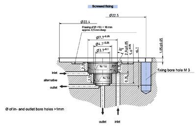 Miniature valve, bistable - 19.00x.287 bistable