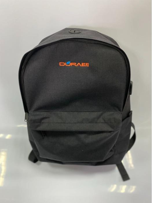 DR-002 Fashion Backpack Bag - Laptop Backpack with USB charging wire