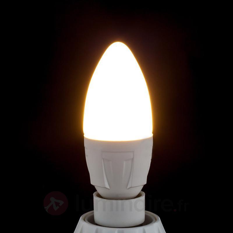 Ampoule bougie LED E14 6W 830 blanc chaud - Ampoules LED E14