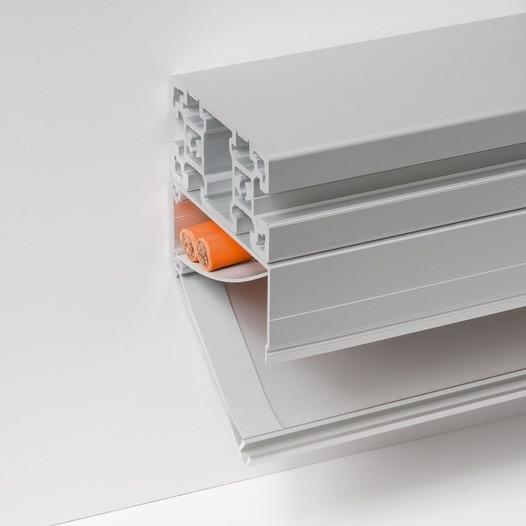 BLOCAN cable channel system - made from aluminium