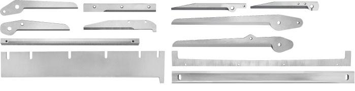 Packaging and composite material knives - Aluminum foil knives