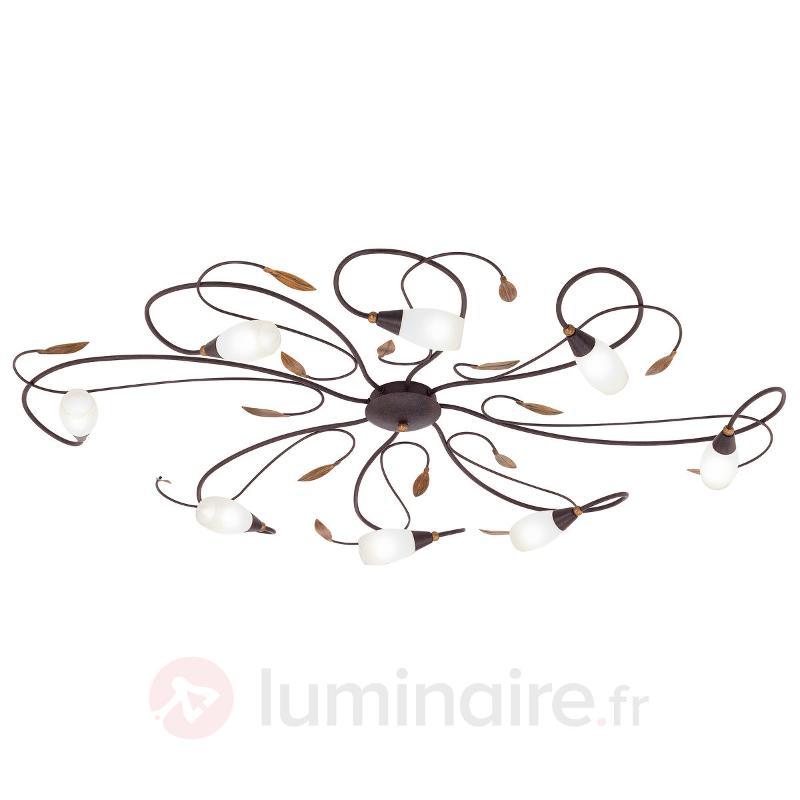 Plafonnier coquet Gerbera - Plafonniers rustiques