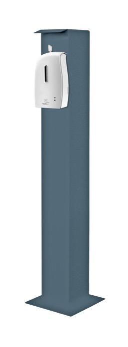 Colonne de désinfectant - Colonne de désinfectant avec distributeur automatique