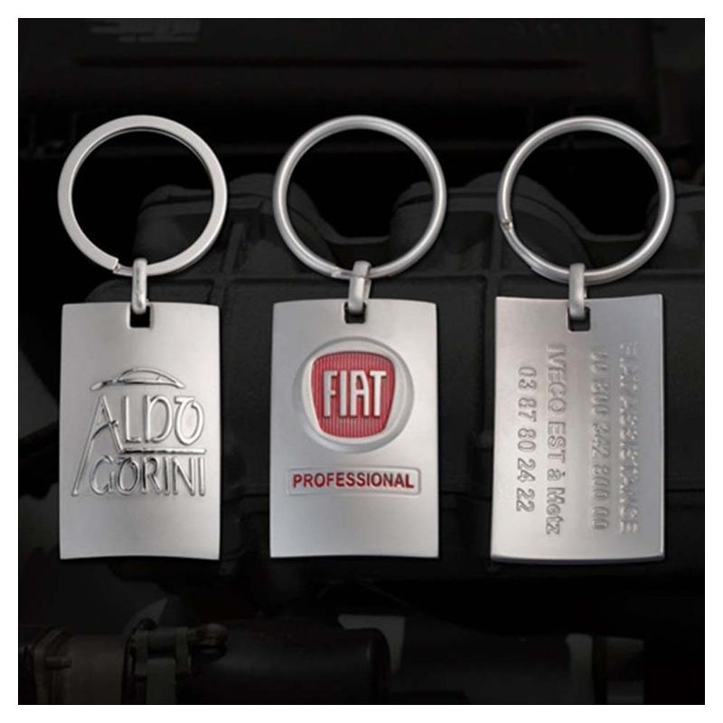 Porte-clés curving - Porte-clés métal