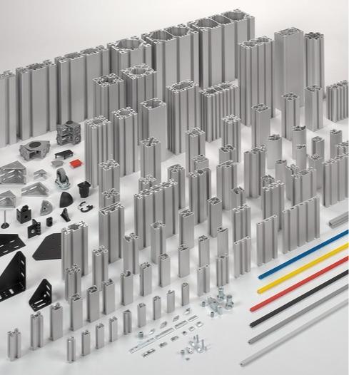 Sistemi di profilati in alluminio BLOCAN® - il sistema di montaggio senza lavorazione