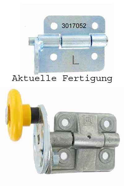 3017052 / 28156101 - Hörmann 3017052 roller holder hinge LPU left side (interior view)