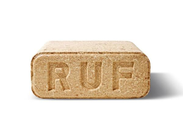 RUF briquettes - Hardwood sawdust briquettes