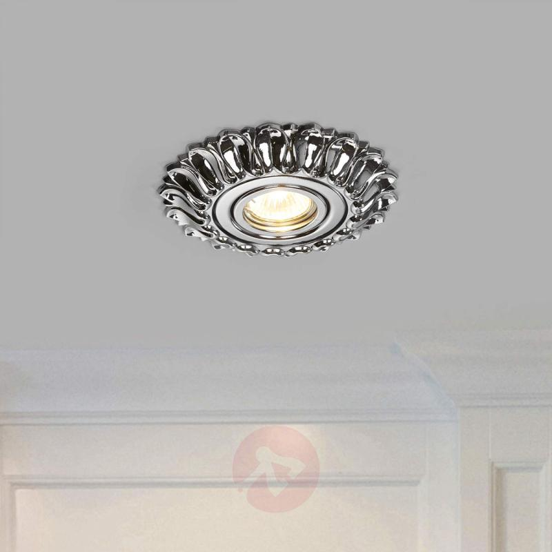 Estela - glossy chrome-plated recessed light - design-hotel-lighting