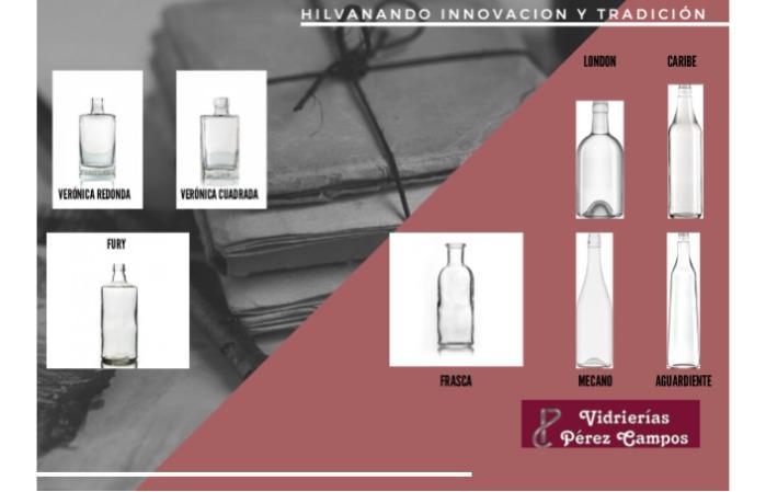 Envases para Licor - Para todo tipo de bebida espirituosa