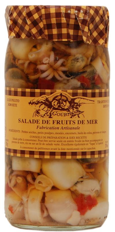 Salade de Fruits de Mer 37cl - Produits de la mer