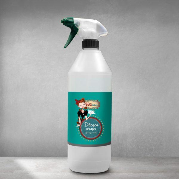 Détergent Ménager Spray 60'solution - null
