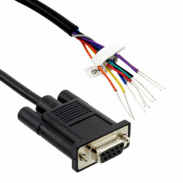 CABLE BARE WIRE 4' DB-9F - Digi International 76000724