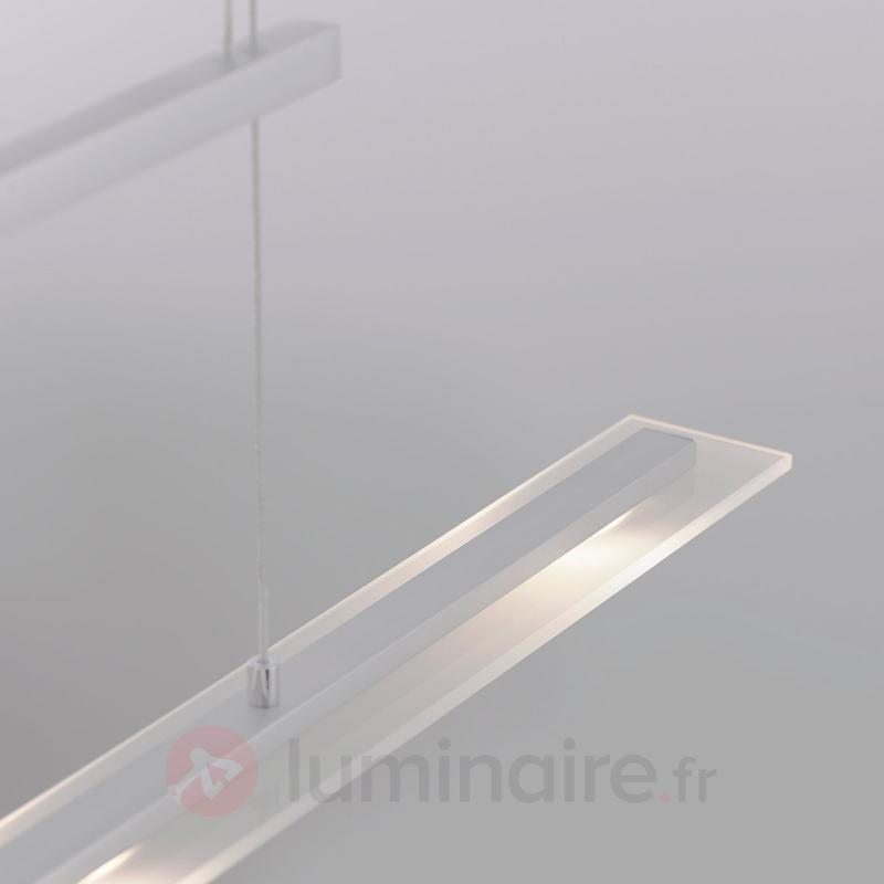 Suspension LED mince Sara, à hauteur réglable - Suspensions LED