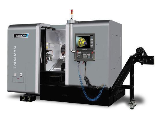 Mehrachsen-Drehzentrum - TMX 8 MYSi - Die ideale Maschine für die Komplettbearbeitung mittelgroßer Teile