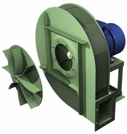 GBQ • Ventilateur haute pression type GBQ - Transmission directe - null